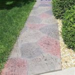 colored concrete walkway orlando