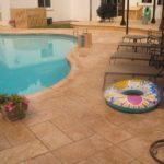 concrete pool deck limestone coating orlando