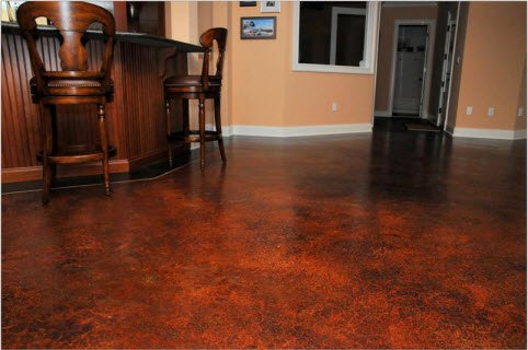 Acid Stain Concrete Staining In Orlando Fl Sun Surfaces Of Orlando