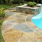 concrete stamping pool deck orlando