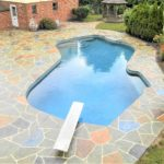 decorative stamped concrete pool deck orlando