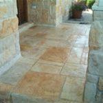 limestone stamped entryway orlando