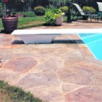 pool deck decorative concrete stamps orlando