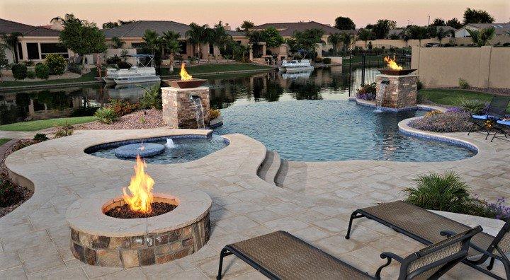 pool deck sunstamp orlando