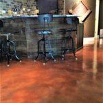 staining concrete basement orlando