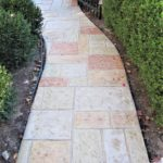 stamped concrete walkway installation orlando