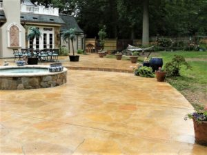 stamped concrete patio contractor orlando