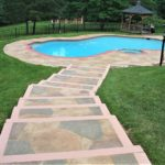 stamped concrete pool deck orlando fl