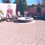 stamped patio cobblestone pattern orlando