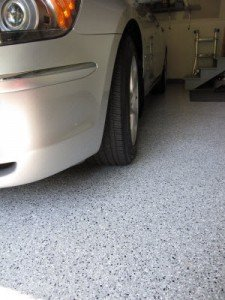 Custom Garage Flooring Options Terrazzo Granite Look