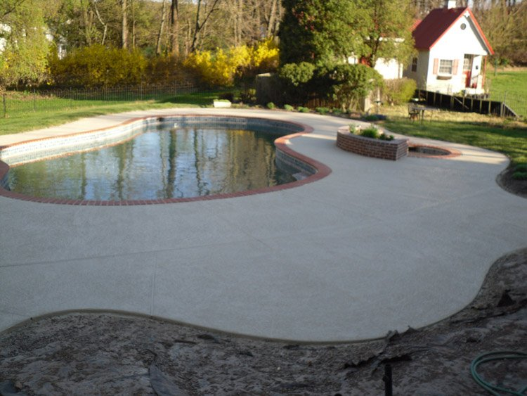Clermont, FL pool-deck resurfacing