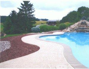 Pool Deck Decorative Concrete