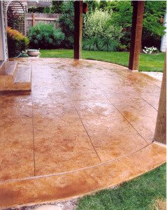 stamped concrete patio Orlando FL