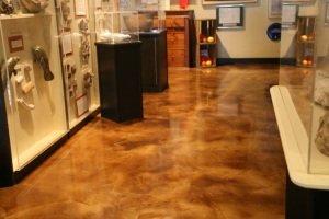 concrete floor stain Orlando