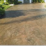 concreted driveway staining orlando