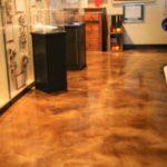 concrete staining interior floor orlando