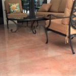 interior floor staining concrete orlando