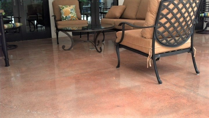 interior floor staining concrete orlando