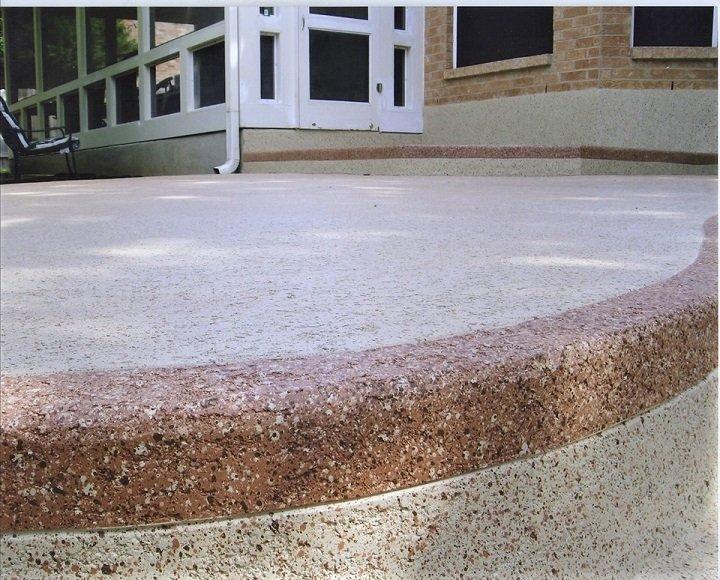 Residential Concrete Patios Orlando · Knockdown Texture Resurfacing Orlando