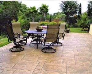 residential stamped patio orlando