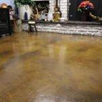 stained concrete floors orlando