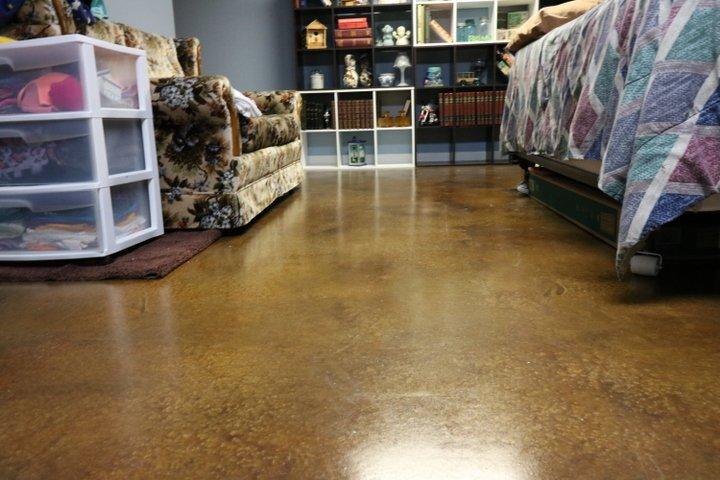 stained interior floor orlando