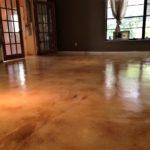 staining concrete interior floors orlando