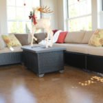 staining concrete floors orlando