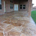 stamped concrete patio installation orlando