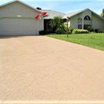 sundek driveway in custom scoreline effect orlando