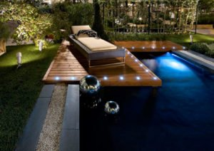 pool deck lighting