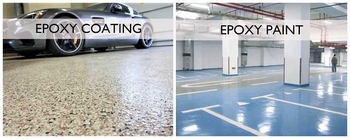epoxy coating vs epoxy paint