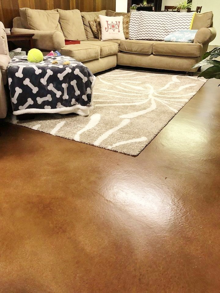 concrete floor stains orlando