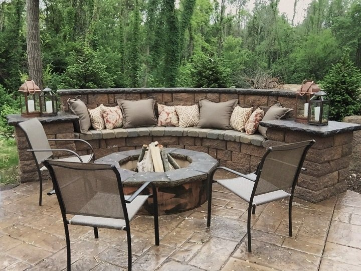 concrete patio trends