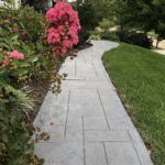 decorative concrete walkway orlando