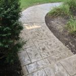 stamped concrete walkway orlando