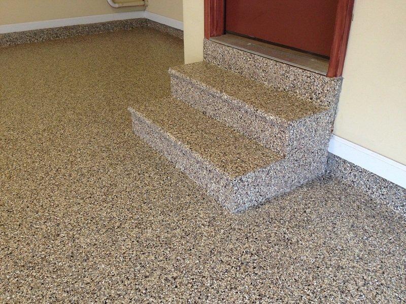 polyurea-floor-stairs